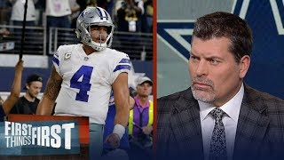 Mark Schlereth: Dak Prescott has an old soul about him | FIRST THINGS FIRST