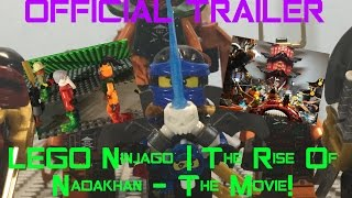 OFFICIAL MACK ANIM TRAILER | LEGO® Ninjago™ | The Rise Of Nadakhan - The Movie!