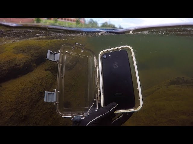 Found Lost iPhone 7 in River While Scuba Diving! (w/ Girlfriend)   DALLMYD