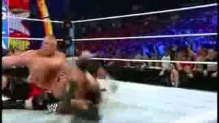 Summerslam 2012 Brock Lesnar vs Triple H Highli