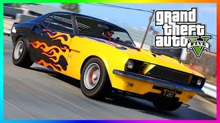 Vapid Dominator Classic - Grand Theft Auto 5 - Customization, Liveries & More! (GTA 5 Muscle Car)