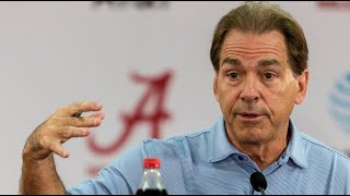 Nick Saban talks Tennessee and rivalry week