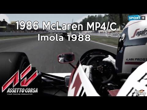 Xxx Mp4 Assetto Corsa Lotus 98T 1986 McLaren MP4 2C Alain Prost At Imola 1988 Download 3gp Sex