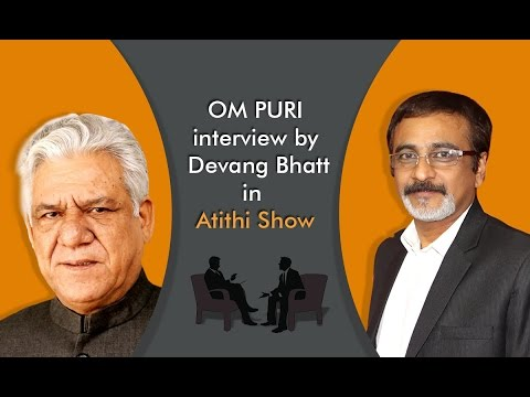 Last Interview of Om Puri | Veteran actor and Padma Shri winner