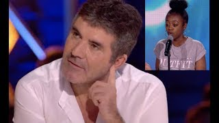 Singing Without Instrument, Little Girl Rai Goes ALL IN | The X Factor UK 2017