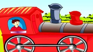 Engine Number Nine Nursery Rhyme - Animated Songs for Children