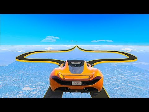 NOBODY Has Ever Completed This IMPOSSIBLE RACE GTA 5 Funny Moments