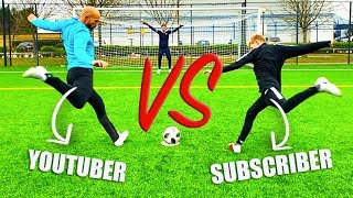 I Challenged A Subscriber To A Football Competition!