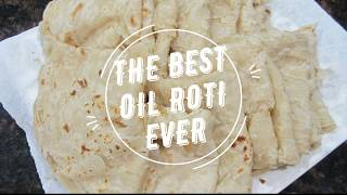 The Best Step-by-Step Guyanese Oil Roti Recipe || Paratha Roti- Episode 62