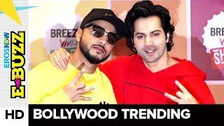 Varun Dhawan and  Raftaar shoot for a music video | Bollywood News | ErosNow eBuzz