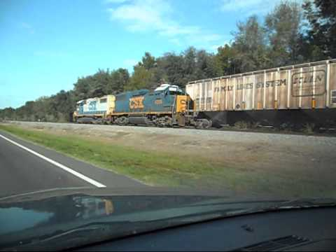 CSX Train The Chase Is On
