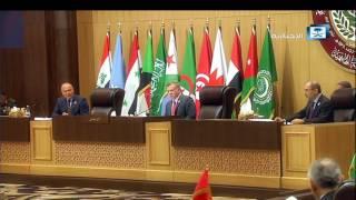 فاصل.. استقبال خادم الحرمين الشريفين خلال انعقاد القمة العربية الــ 28