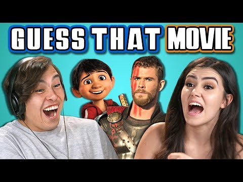 Teens Guess That Movie Challenge 2 React