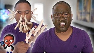 100 layers of stupid sh*t Challenge!! | THIS HURTS LIKE HELL