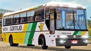 Ônibus Busscar Scania - Euro Truck Simulator 2
