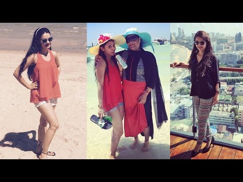 Devoleena Bhattacharjee AKA Gopi Bahu Sanskaari's Bangkok Vacation Pictures