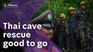 Thailand cave rescue latest: mission ready to go