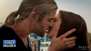 Who Was Really Kissing Chris Hemsworth in 'Thor: The Dark World'?