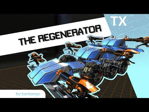 Robocraft megabot showcase - The Regenerator - hamariweb.uk