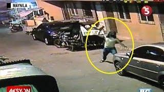 Sapul sa CCTV | Pagbaril sa 17-anyos na namato ng sasakyan sa Maynila