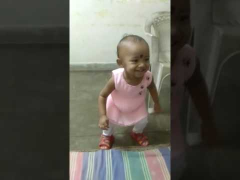 aunsha cute beby dance performance