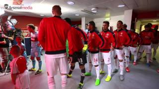 Arsenal v West Ham | TunnelVision