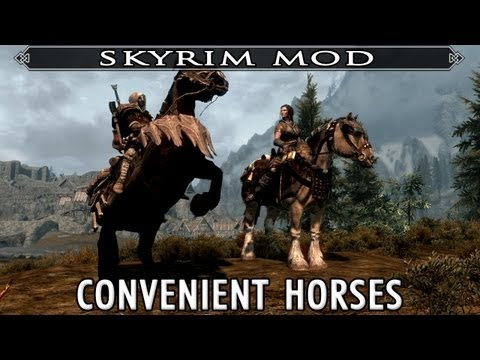 Skyrim Mod Feature: Convenient Horses - The Best Horse Mod for Skyrim