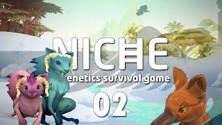 NICHE #02 WINTER IS COMING Genetics Survival Game - Let