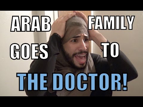 ARAB FAMILY GOES TO THE DOCTOR!