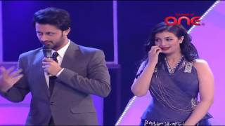 Atif Aslam and Himesh Reshammiya in a different avatar in SurKshetra Funny Moment   Video Dailymotio
