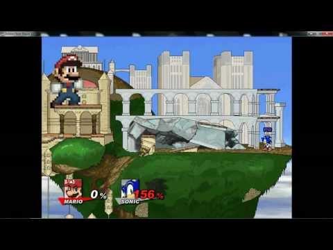 Super Smash Flash 2 v0.8a Big and Small Glitch