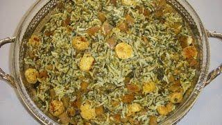 کلم پلوی شیرازی Kalampolo Shirazi