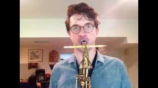 How do I improve my sax sound? Use this weird tip.