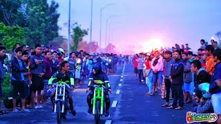 Santy MS Vs Febri Sapri, Duel Ninja 201m Live Ketapang