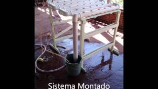 Como Fazer Hidroponia Caseira - Baixo Custo - Fácil de Montar - Passo a Passo - NFT