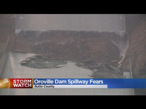 Fears Over Oroville Dam Spillway Grow As Hole Gets Larger