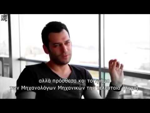 Murat Yildirim Interview 1 1 2014 ¸¸.• ` •☆ greek subs