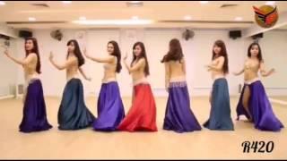 Yalla Habibi most popular arabic song By Fureza with hot belly dance
