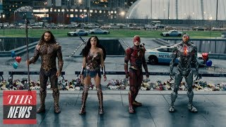 'Justice League' Hopes for $110M-Plus U.S. Weekend Box Office Debut | THR News