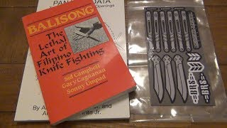 More Cool Balisong (Butterfly Knife) Related Goodies Including Something From BRS