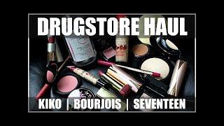 Makeup Collection - UK DRUGSTORE HAUL 2016 | Kiko, Bourjois, Seventeen, & More!