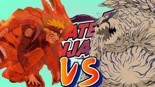 Naruto Shippuden Ultimate Ninja 5 - Kyubi VS Shukaku - Español