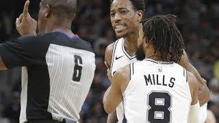 Spurs Beat Clippers By 38! Largest Margin of Season! 2018-19 NBA Season