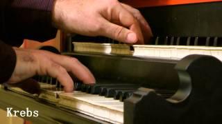 Willem van Twillert plays Krebs, Fantasia à  gusto italiano  Van Twillert, organ