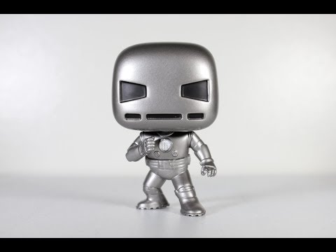 First Appearance IRON MAN Funko Pop review