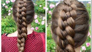 Dutch 4-strand braid tutorial - HairAndNailsInspiration