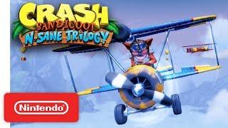 Crash Bandicoot N. Sane Trilogy - Launch Trailer - Nintendo Switch