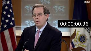 لحظات صمت طويلة بعد سؤال مسؤول أمريكي عن السعودية