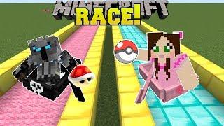 Minecraft: POKEMON RACE CHALLENGE!!! - POPULARMMOS WORLD [7]