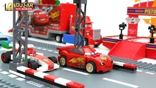 Learning Color Number With Disney PIXAR Cars Lightning McQueen Mack Truck LEGO for kids car toys